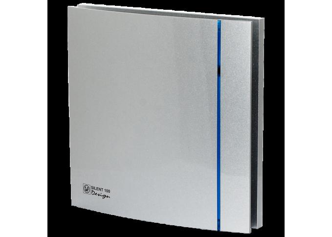 Витяжний вентилятор SOLER&PALAU SILENT-100 CRZ SILVER DESIGN - 3C (230V 50)