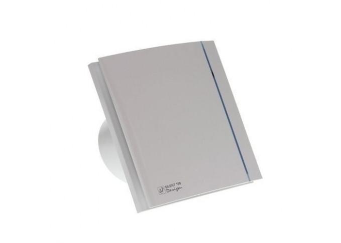 Витяжний вентилятор SOLER&PALAU SILENT-100 CHZ SILVER DESIGN - 3C (230V 50)
