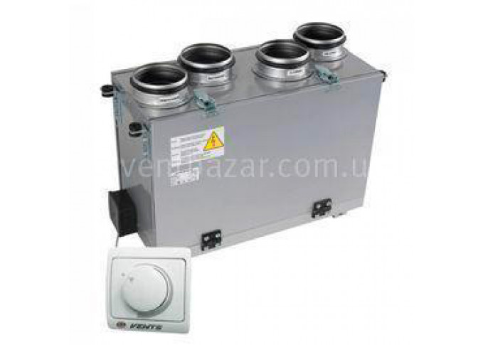 Приточно-вытяжная установка Вентс ВУТ 300 В мини