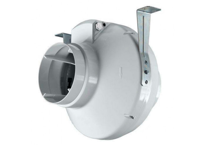 Круглий канальний вентилятор Вентс ВК 150 (220В / 50-60Гц) (кольоровий короб)