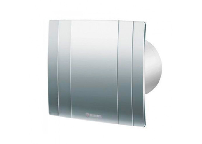 Побутовий вентилятор Blauberg Quatro Hi-Tech Chrome 125