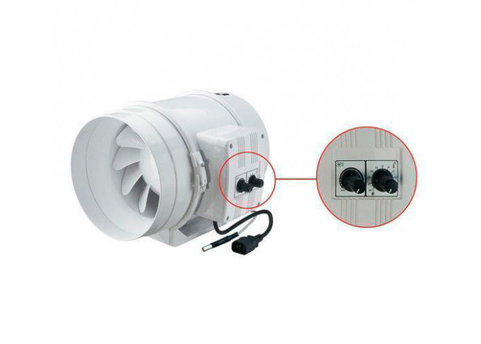 Круглий канальний вентилятор Вентс ТТ 100 Ун
