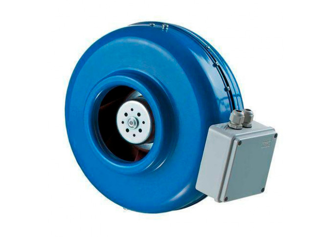 Круглый канальный вентилятор Вентс ВКМ 315 ЕС (бурый короб)