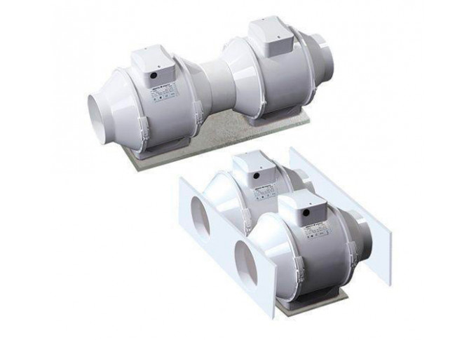 Круглий канальний вентилятор Вентс ТТ 125 СТ