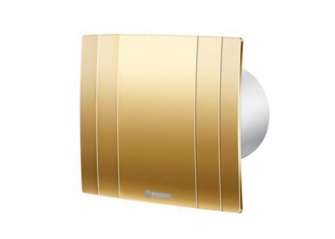 Побутовий вентилятор Blauberg Quatro Hi-Tech Gold 125