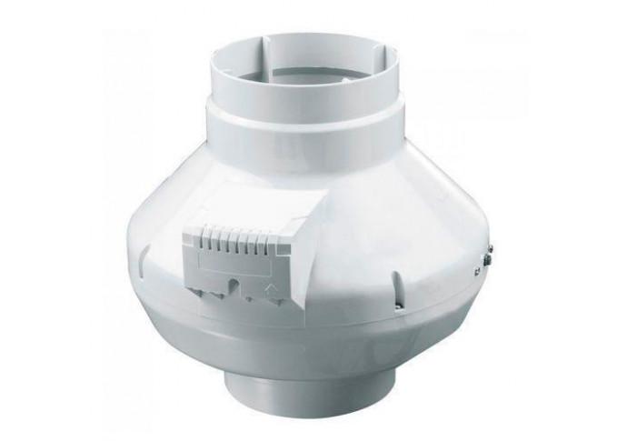 Круглий канальний вентилятор Вентс ВК 200 У1 (бурий короб)