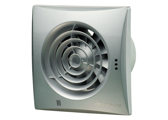 Витяжний вентилятор ВЕНТС 125 КВАЙТ В