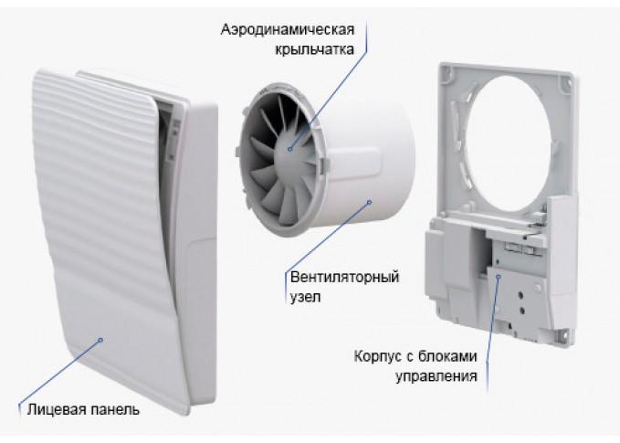 Витяжний вентилятор ВЕНТС 100 СТАЙЛ Т