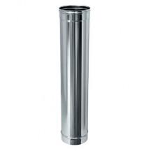 Труба одностінна з нержавіючої сталі, товщина стінки - 0,5 мм, Довжина - 1 м, Товщина стінки - 0,5 мм, Довжина-1 м 110 мм