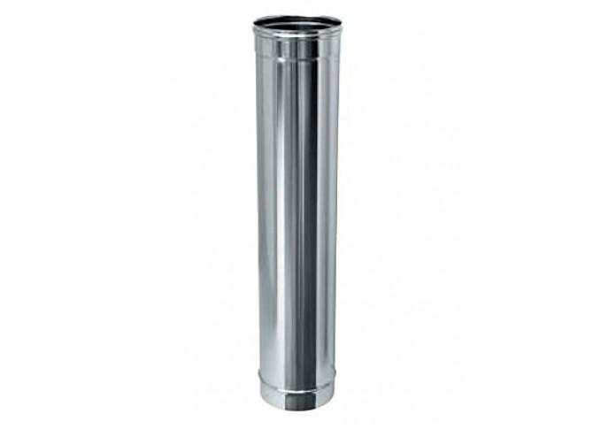 Труба одностінна з нержавіючої сталі, товщина стінки-0,5 мм, довжина-0,5 м 140 мм