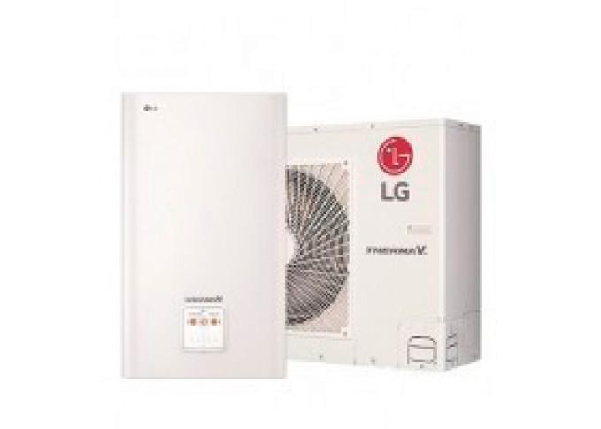 Тепловий насос повітря-вода LG HU143.U33 + HN1639 NK3 (3ф) - 14Квт