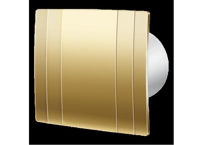 Витяжний вентилятор BLAUBERG Quatro Hi-Tech Gold 100